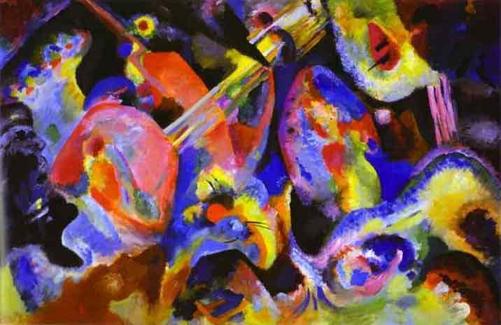Flood Improvisation (Kandinsky) Galeria Lenbachhaus (Munich)
