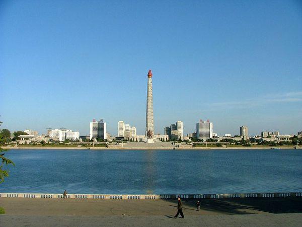 La torre Juche en Corea: conmemoracion de un ideal