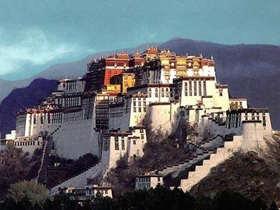 Potala, el palacio en el Tibet