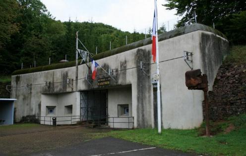 Fuerte Hackenberg en la línea MAginot