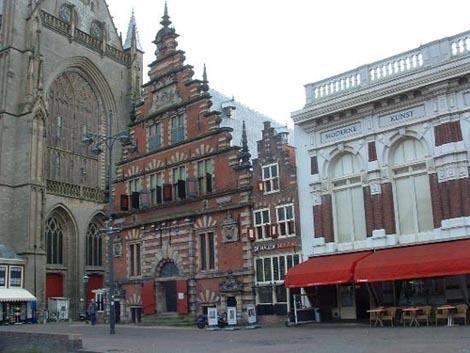Iglesia Sint-Bavorek, cerca de Amsterdam