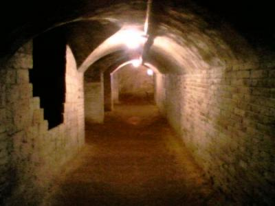Tunel subterraneo en Barcelona