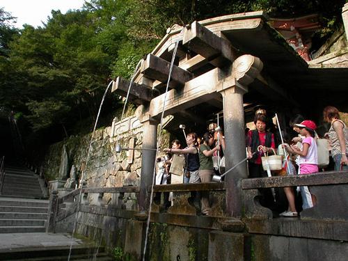 Kiyomizu-dera, el templo del agua pura
