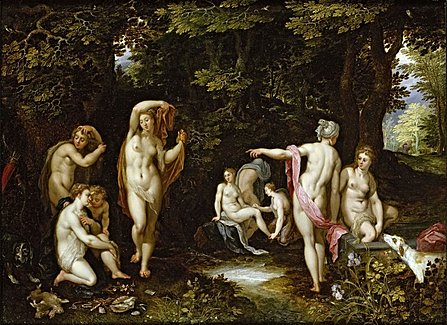 Diana y Acteón ( Rembrandt)