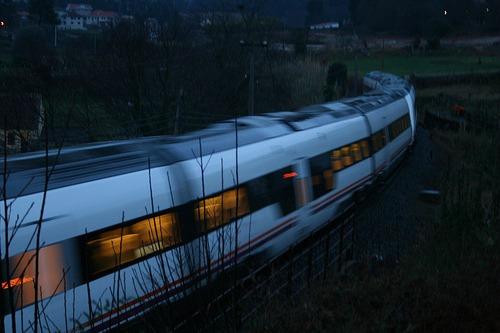 Tren nocturno por Europa