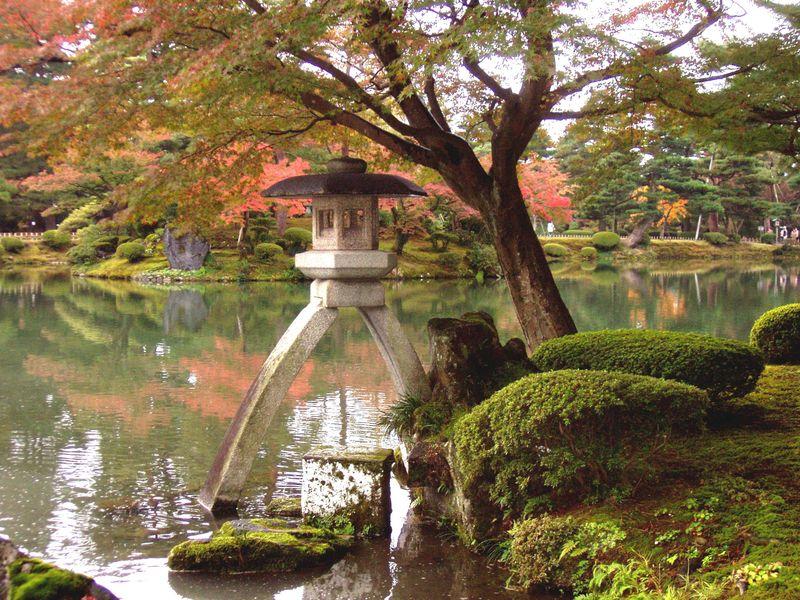 El jardin mas bello de todo Japon