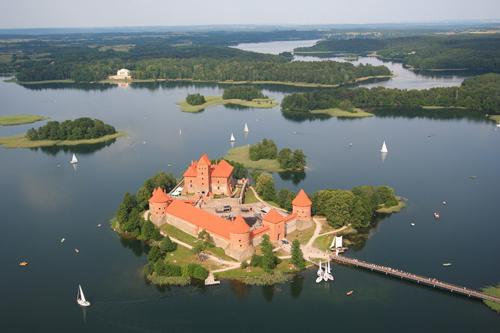 Trakai, el castillo mas hermoso de Lituania