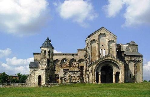La Catedral de Bagrati y el monasterio de Ghelati