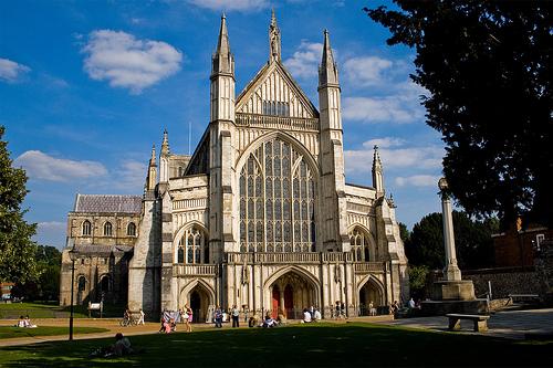 La Catedral de Winchester y el buzo que la salvó