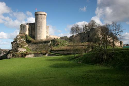 Château de Falaise, donde nació Guillermo el Conquistador