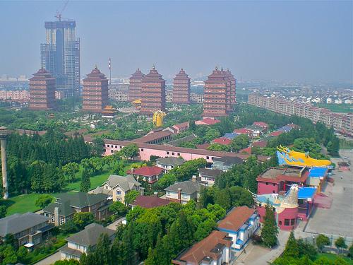 Huaxi, una ciudad habitada por ricos