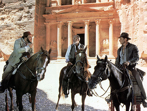 Indiana Jones en Petra