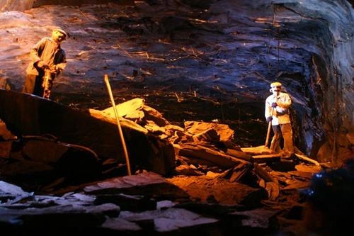 Mine Bleue, Museo subterraneo