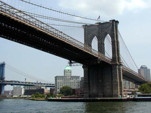 Elefantes sobre el puente de Brooklyn