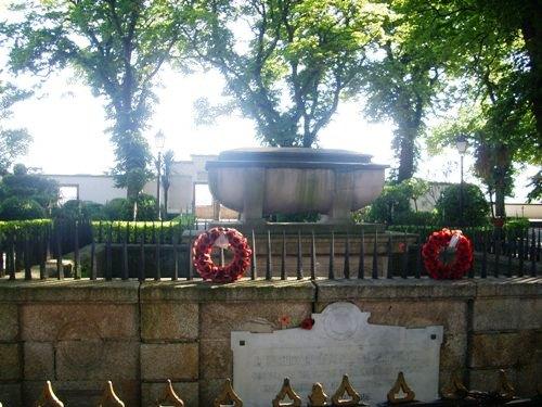 El jardín romántico de San Carlos en La Coruña