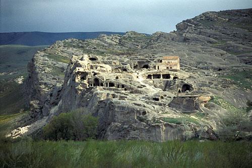 Uplistsikhe, la ciudad en las rocas