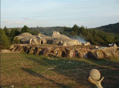 Utopix, los iglúes de Sauvaterre