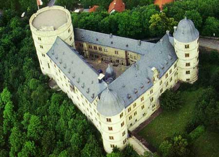Castillo de Weweslburg centro estratégico-místico de las SS