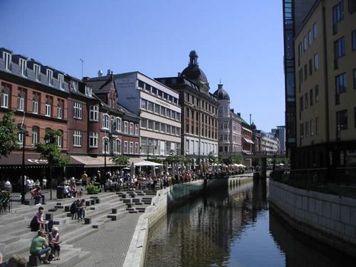 Visita a Aarhus, pequeña ciudad en Dinamarca