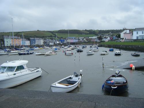 New Quay, Fishguard y Tenby