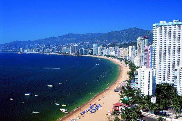 Costa de Acapulco, playa