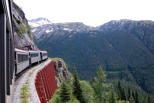 Un viaje en tren por Alaska