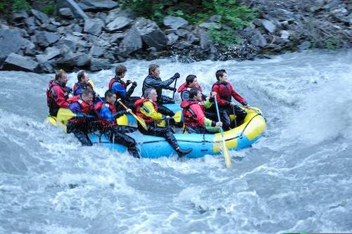 rafting lowe river
