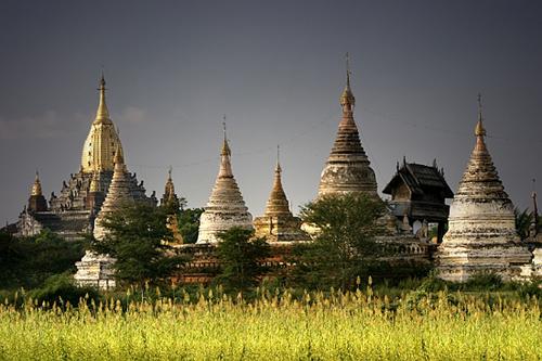 En Myanmar, el templo Ananda Pahto