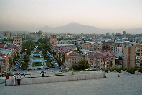 Yerevan, la capital de Armenia