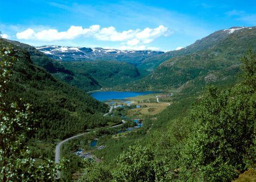El Valle de Aurland y el fiordo Nærøyfjord