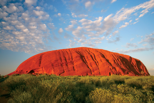 Uluru, un mundo mágico en Australia