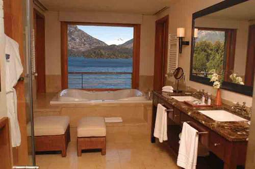 Baño en hotel Llao Llao