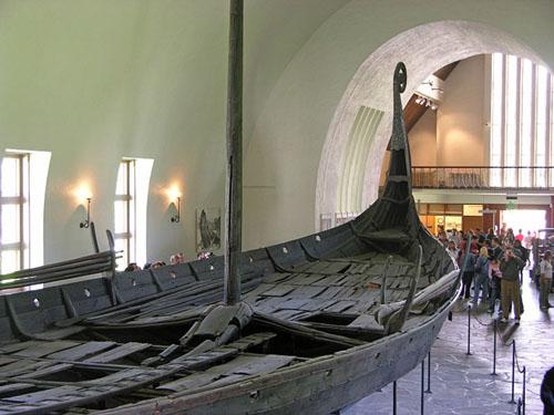 El Museo de los Barcos Vikingos, en Oslo