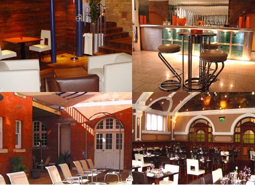 Bares, terraza y restaurante del Morgans Hotel