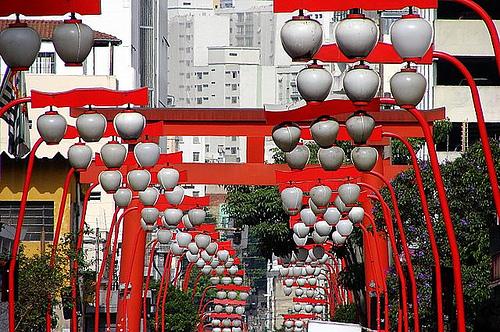 El Barrio Japones en Sao Paulo