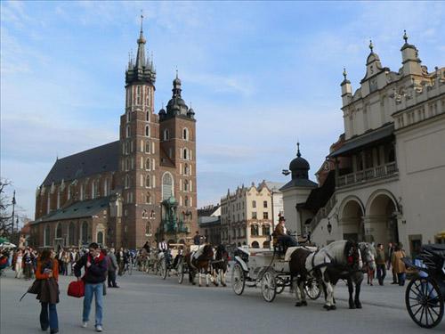 La Basílica de Santa María, en Cracovia