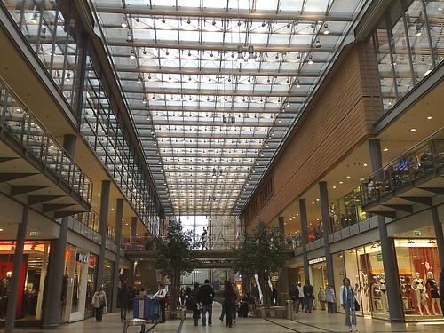 De compras por las calles de Berlin