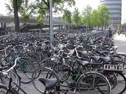 Pasear en bicicleta por Ámsterdam