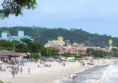 Bombihnas, una playa al sur de Brasil