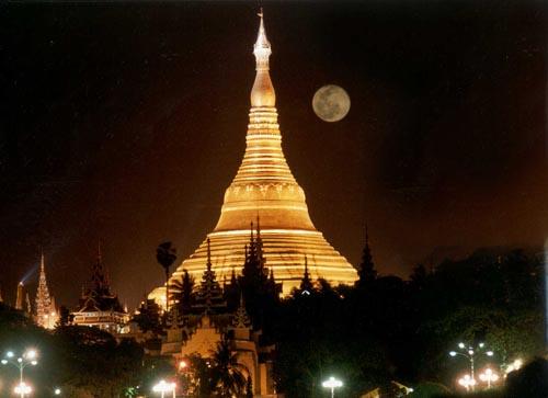 Paya de oro de Shwedagon