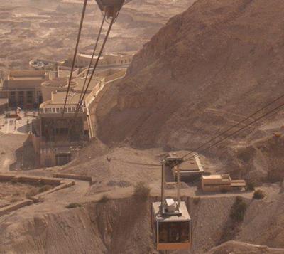 Telesferico a Masada