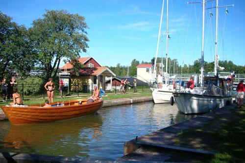 El centenario Canal Göta, en Suecia