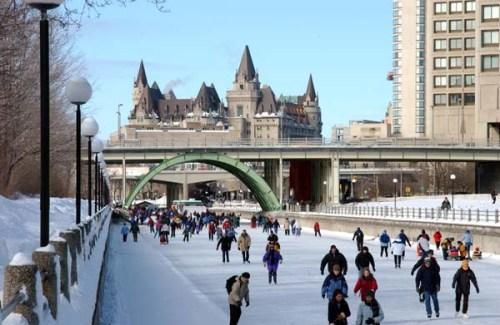 El Canal Rideau, en Canadá