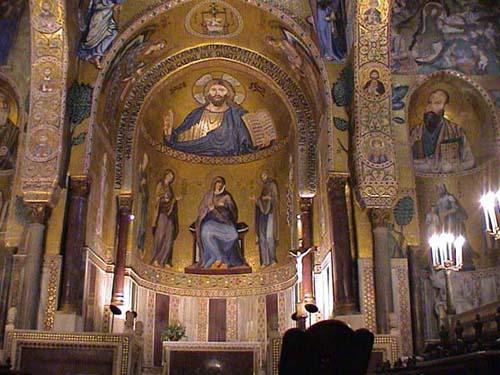 La dorada Capella Palatina, en Palermo