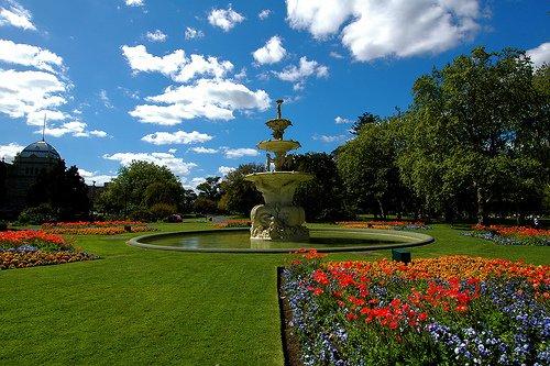 Los Jardines Carlton, en Melbourne