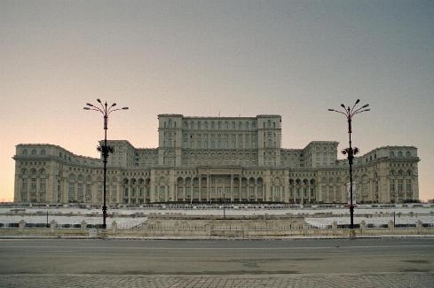 El Palacio del Pueblo en Bucarest