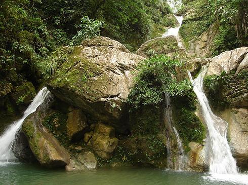 Cascada de santa Carmen en Tingo Maria