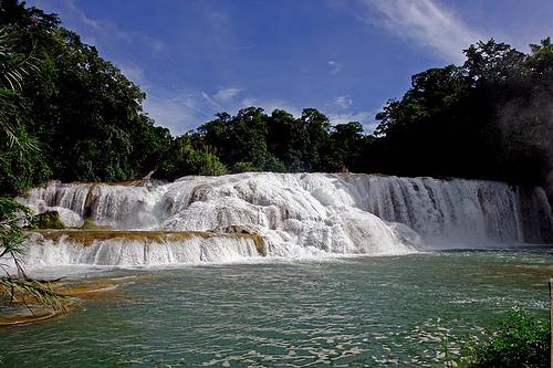 cascadas agua azul 2