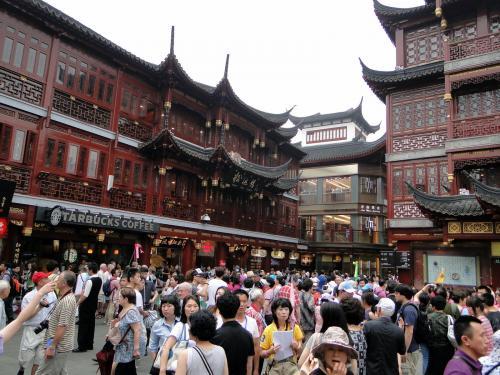 El casco antiguo de Shanghai
