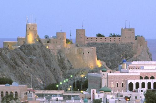 Al-Jalili, el castillo portugués de Omán